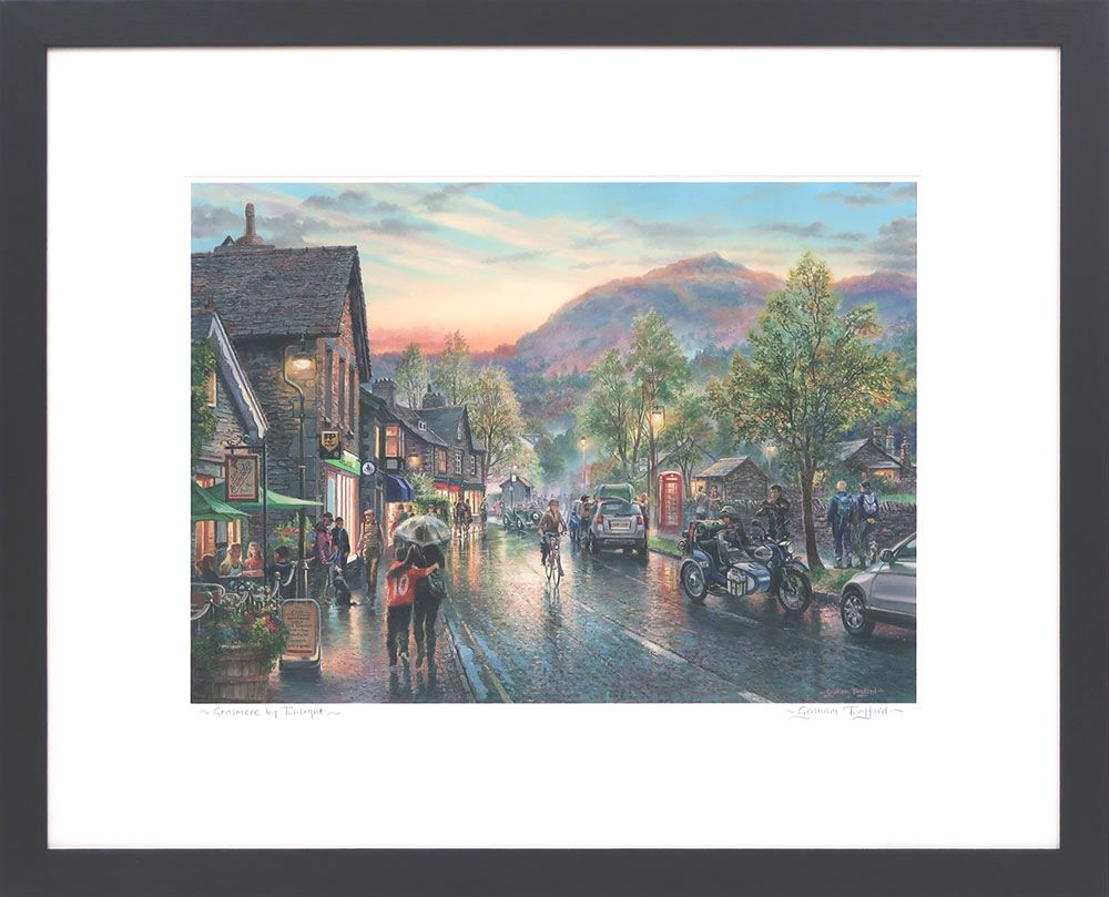 Grasmere Twilight , signed print by Graham Twyford
