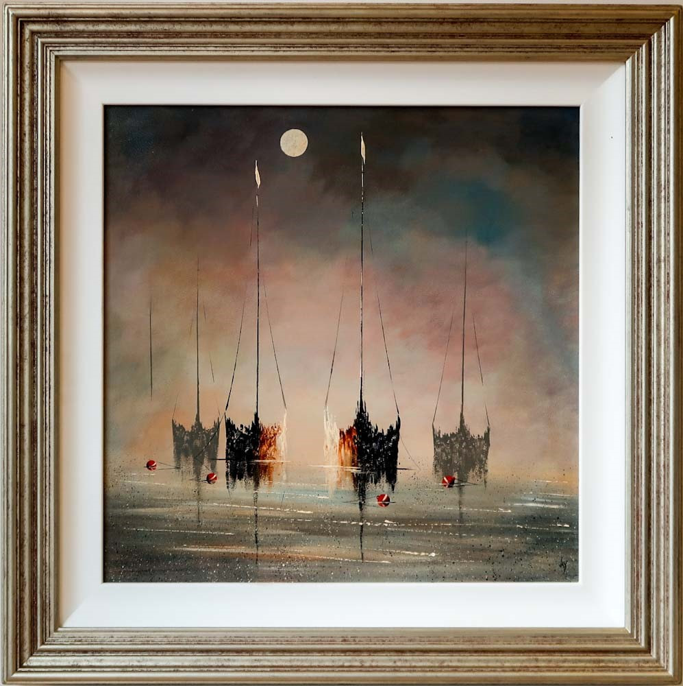 Ghost Ships by Jay Nottingham olriginal oil